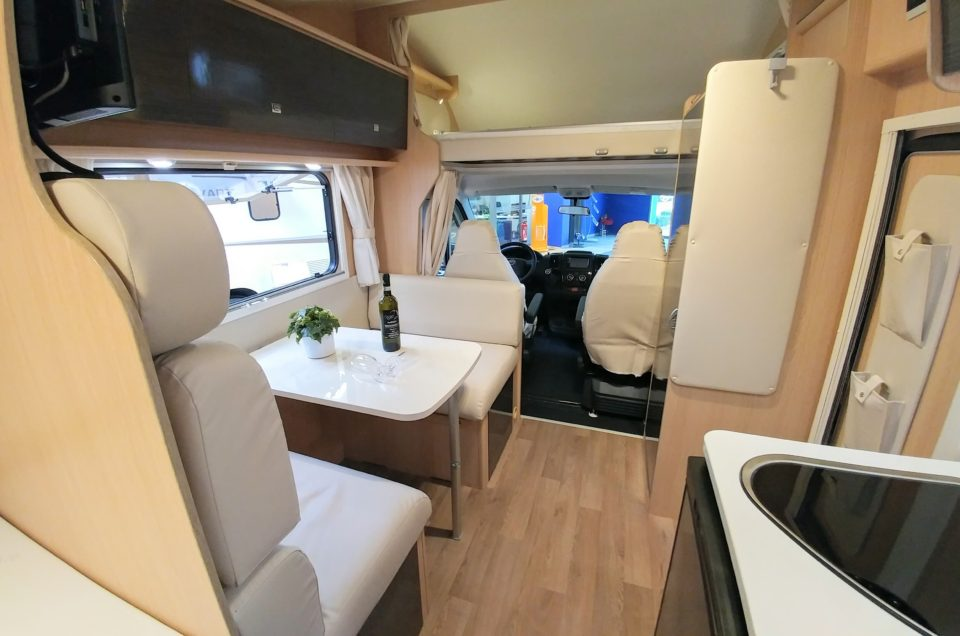How many passengers can a motorhome accommodate?